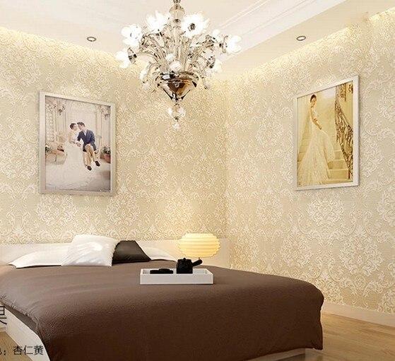 Eropa Cantik Stereoscopic Berkelompok Wallpaper Dekorasi Rumah Ruang Tamu Wall Paper