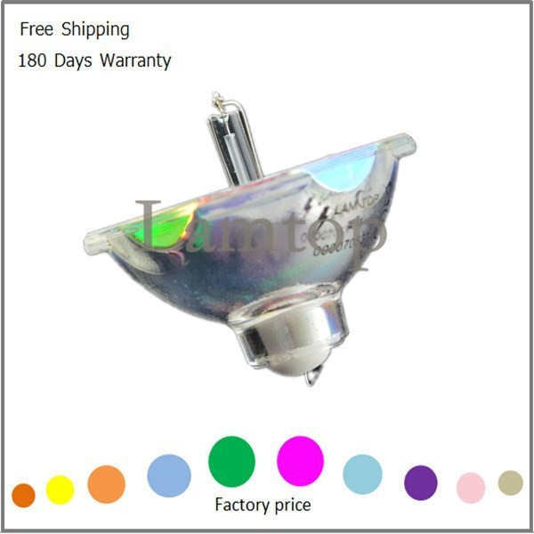 Free shipping bare  projector bulb/ projector lamp ELPLP33   Fit for  EMP-TW20 EMP-TW20H free shipping compatible projector bulb projector lamp elplp34 fit for emp 76c