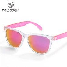 COLOSSEIN lunettes De Soleil Femmes Mignon Multicolore Vacances UV400 Protection  Lunettes En Plastique Adulte Lunettes Hommes f0a6b83d1b94