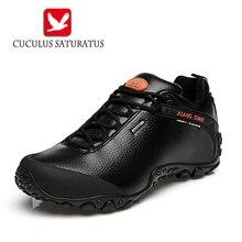Xiang guan уличные водонепроницаемые туристические ботинки Для мужчин Для женщин Пояса из натуральной кожи восхождение Обувь Для мужчин Обувь для прогулок треккинговые ботинки 81996