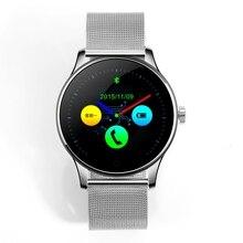 K88H SmartwatchPhone con Podómetro Monitor Del Ritmo cardíaco del Reloj de La Cámara A Distancia con Pantalla HD para Android y ios Teléfono Bluetooth