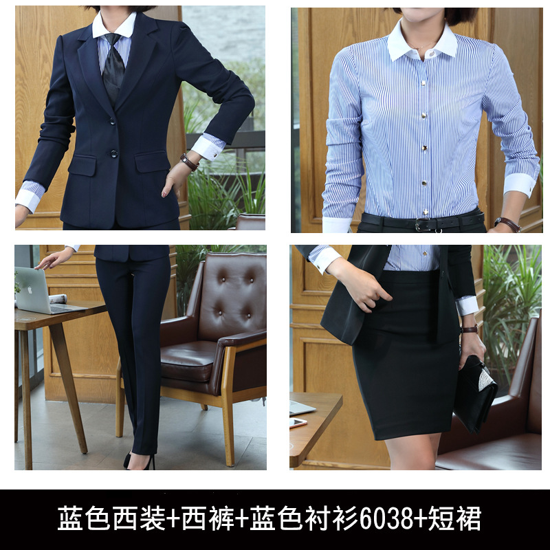Women Formal Professional Pantsuits OL Office Work Plus Size Suit Ladies  Office Uniforms Business Women Pants Suits Outfits 527-in Pant Suits from  Women s ... 5067cf73513e