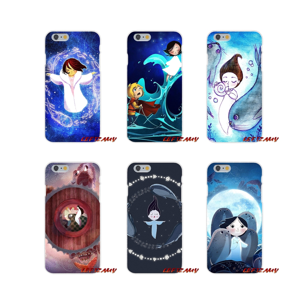 Song of the Sea Accessories Phone Cases Covers For Samsung Galaxy S3 S4 S5 MINI S6 S7 edge S8 S9 Plus Note 2 3 4 5 8