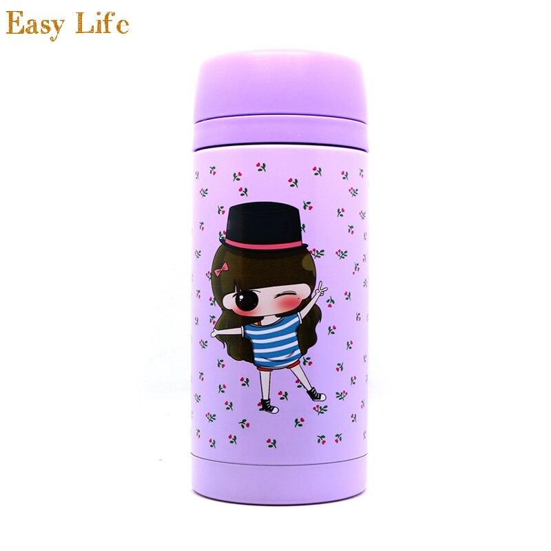 Cartoon Thermos en acier inoxydable fiole à vide coupe pour enfants 350 ml tasse mug