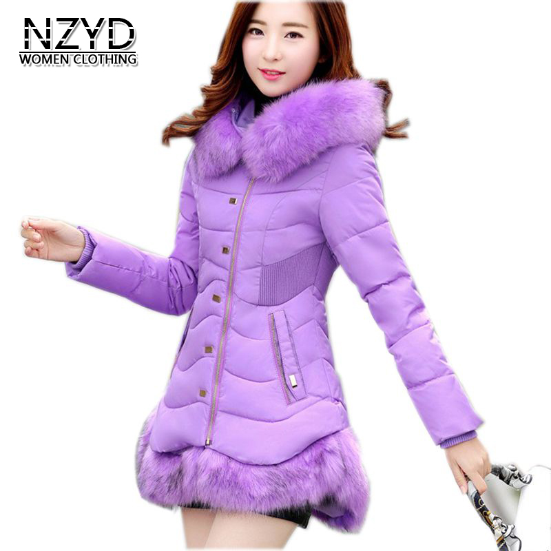 2017 Latest Winter Fashion Women Down jacket Fur Collars Thick Super warm Medium long Coat Pure color Slim Big yards Coat NZ196 8 60 90 120 v 2 flutes cnc machine engraving bit two spiral cutter cnc router endmill
