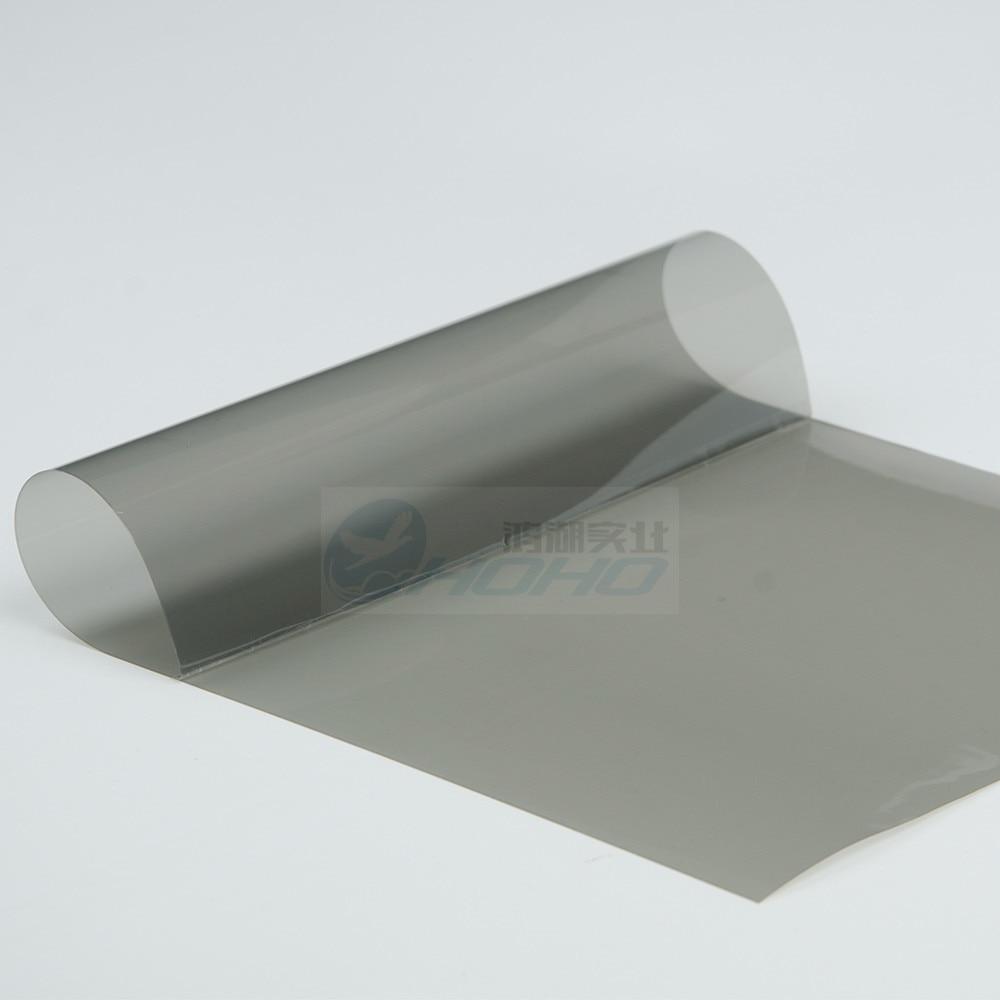 Insulate Car Windows: 1.52mx15m Thicken 4mil Light Grey Uv+insulation Car Window