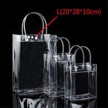 009e03566634 Высокая Ёмкость уникальный дизайн, прозрачный ПВХ Для женщин сумка пляжная  сумка прозрачная сумка сумочка для девочки простая су.