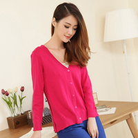 Hot Sales Of New Autumn Winter Women S Wear Simple Fashion Cashmere Cardigans Warm Lady Cashmere