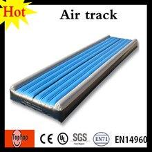 more photos 0f667 ad980 8x2x0,6 mt weiß blau schwarz spiel gymnastikmatte cheerleading aufblasbaren  wäschetrockner spur und turngeräte 0,55mm PVC-plane