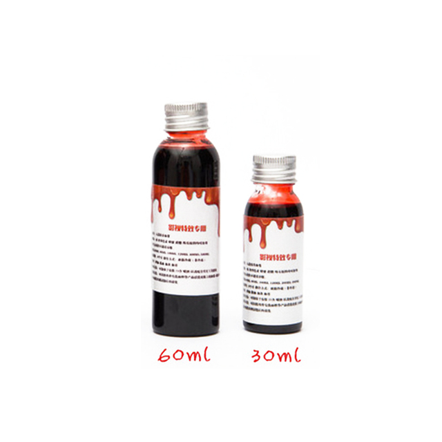 Lensple Halloween Ultra-realistic Fake Blood Cosplay Simulation Of Human Vampire Human Hematopoietic Props Vomiting Edible Pulp