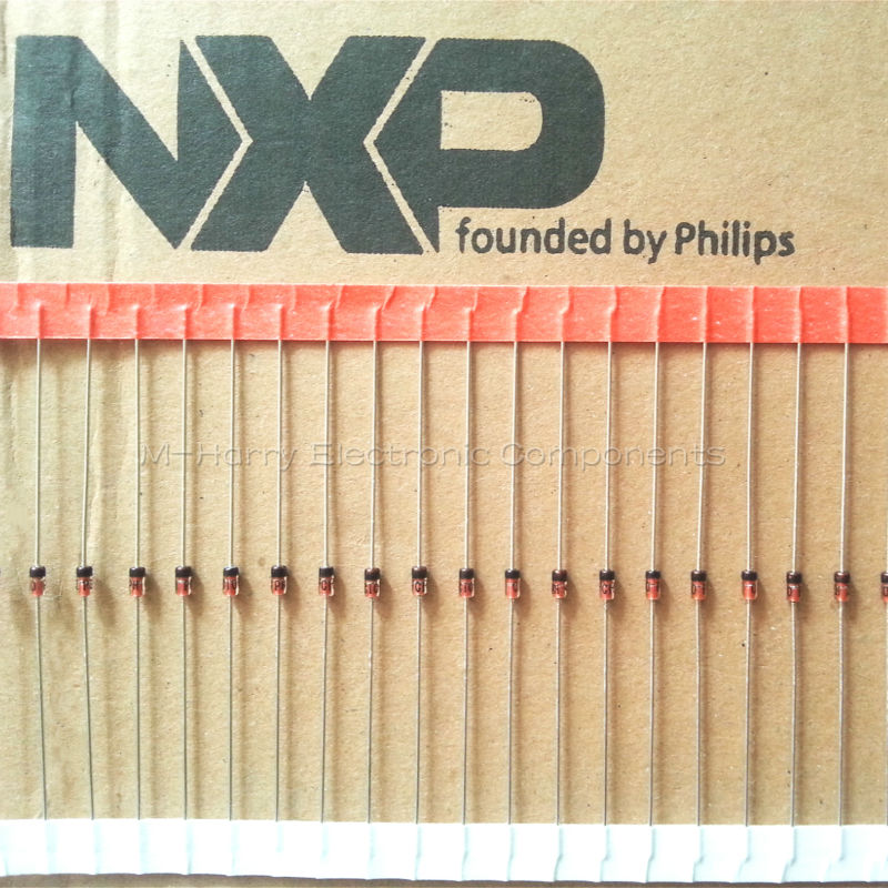 QUANTITIES FROM 50 TO 500  PIECES BZX79C5V6 ZENER DIODE PHILIPS 500mW