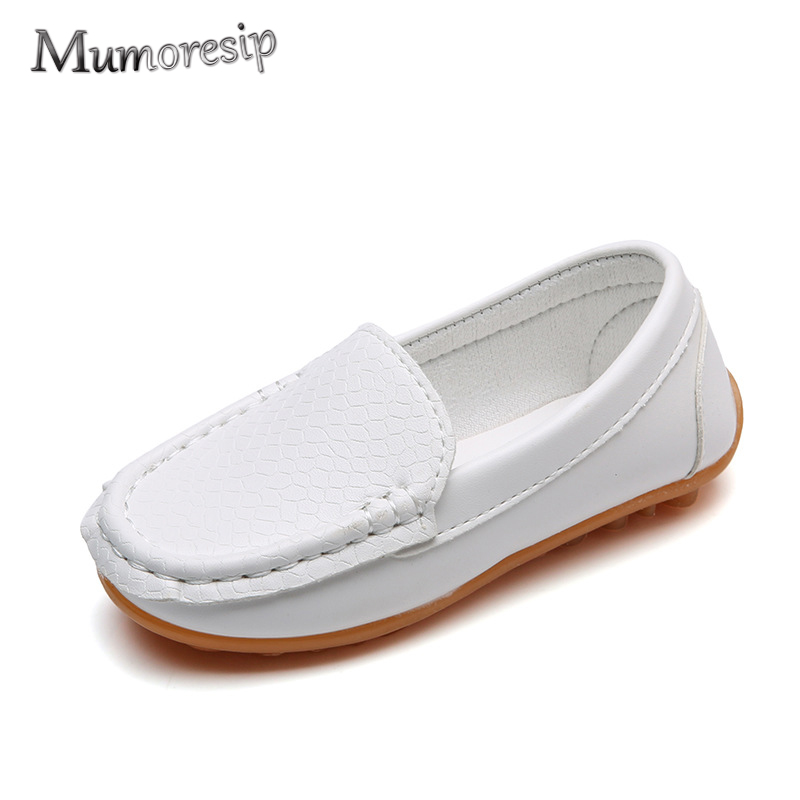 Mumoresip Fashion Super Soft Kids Shoes For Baby Toddlers Boys Girls Big Children School Loafers Casual Flats Sneakers Moccasins