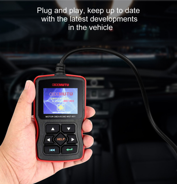 AOSHIKE OBD Diagnostic-Tool OBDII Protocols Smart Scan Tool  Code Reader Support Multi-Brands Cars&languages