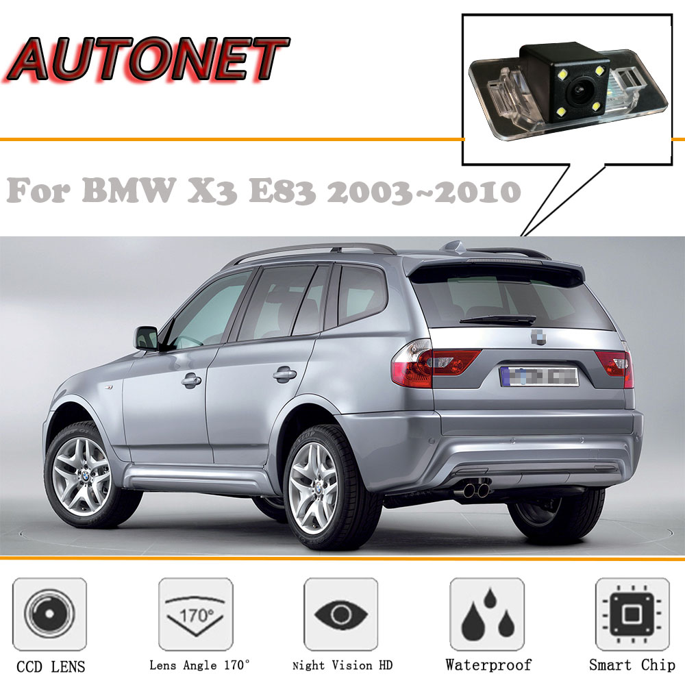 AUTONET Rear View Camera For BMW X3 E83 2003~2010/CCD/Night Vision/Reverse Camera/license Plate Camera