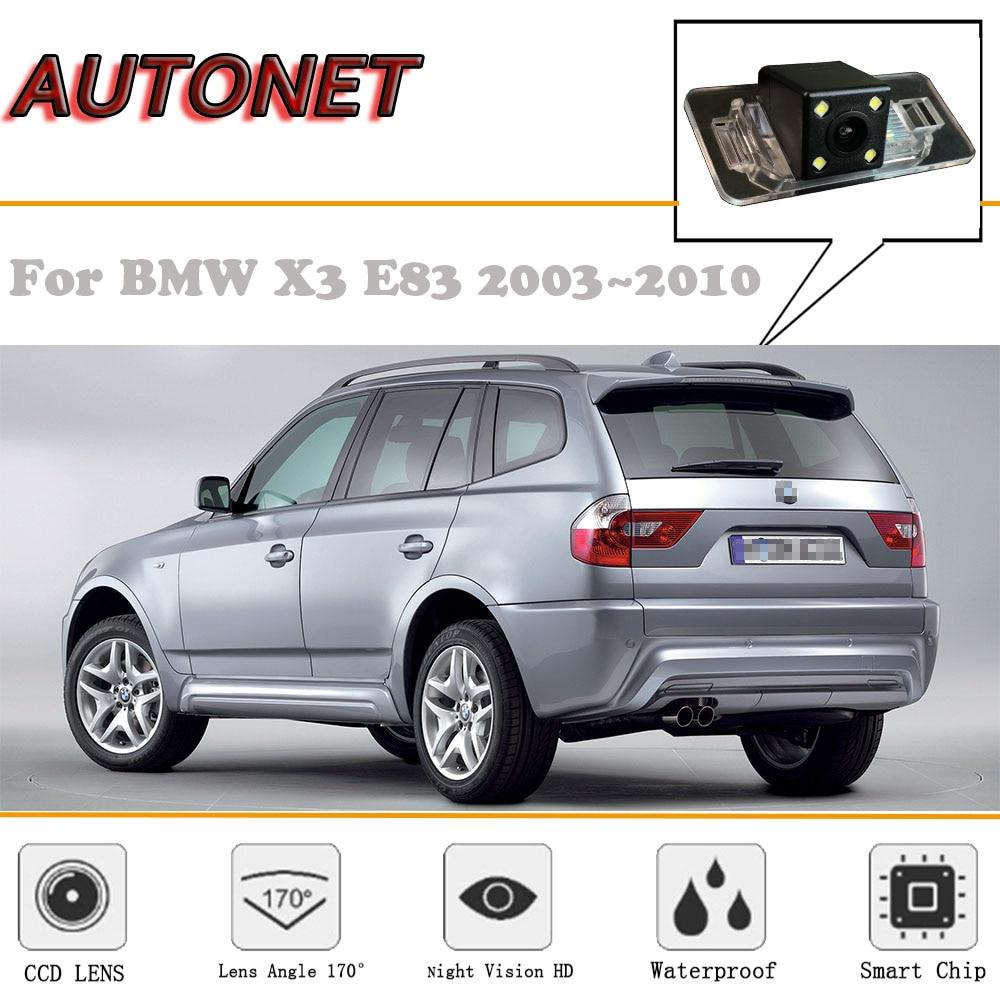 AUTONET Rear View Camera For BMW X3 E83 2003~2010/CCD/Night Vision/Reverse Camera/license Plate Camera