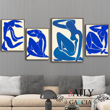 Abstract Home Decoration Canvas Art Painting French Henri Matisse Blue Nude Posters Hd Print Wall Picture For Living Room french moderns monet to matisse 1850 1950