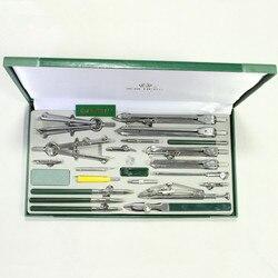 Authentische Hero 23 teile/los H4023 mechanische zeichnung instrument engineering zeichnung metall kompasse gesetzt