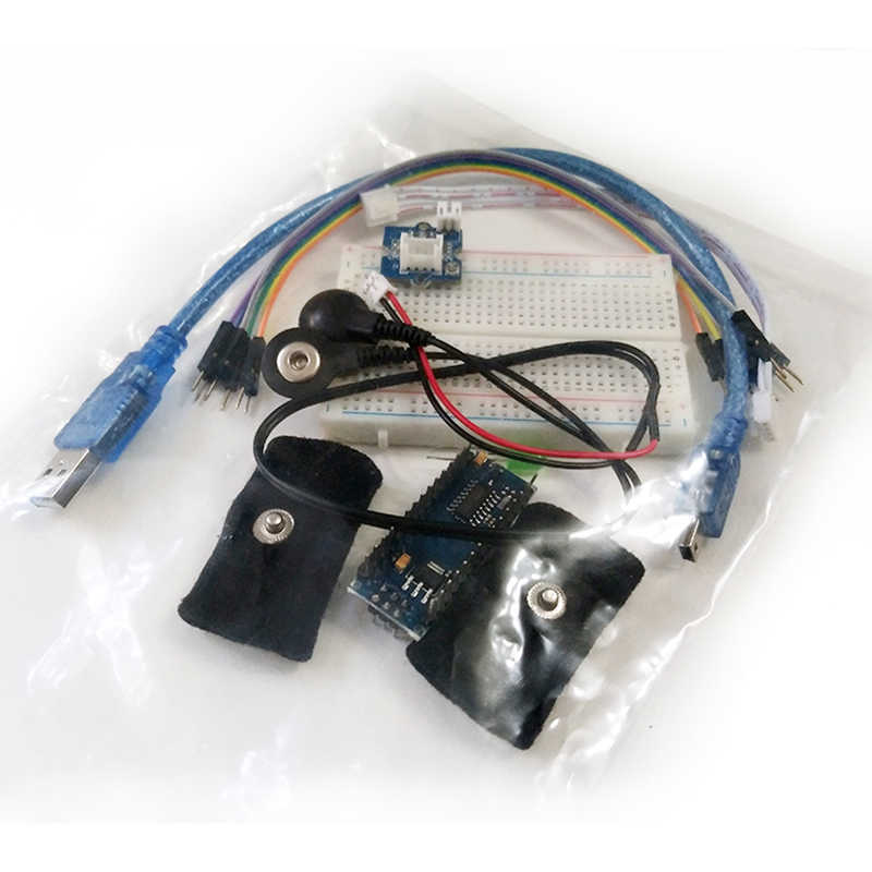 Galvanic Skin Response Sensor (GSR - Sweating) Kit for Arduino Measurable  Skin Resistance Conductivity Sensor