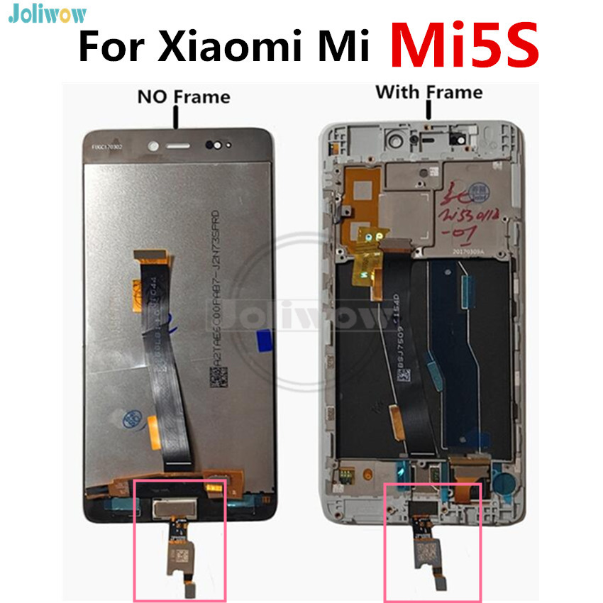 With Fingerprints For Xiaomi MI 5S MI5S LCD display + Touch Panel Replac Digitizer Assembly Repair Parts For MI5 S LCDWith Fingerprints For Xiaomi MI 5S MI5S LCD display + Touch Panel Replac Digitizer Assembly Repair Parts For MI5 S LCD
