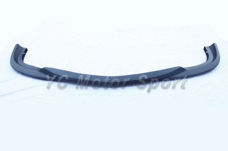 Accessoires de voiture FRP fibre de verre lèvre avant Fit pour 2008-2010 MB W204 C63 AMG berline L1 Style lèvre avant voiture-Style