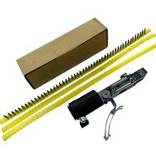 Автоматическая цепочка для гвоздей адаптер винтовой пистолет насадка адаптер кронштейн для гвоздя цепь гвозди комплект для электрической дрели деревообрабатывающий инструмент
