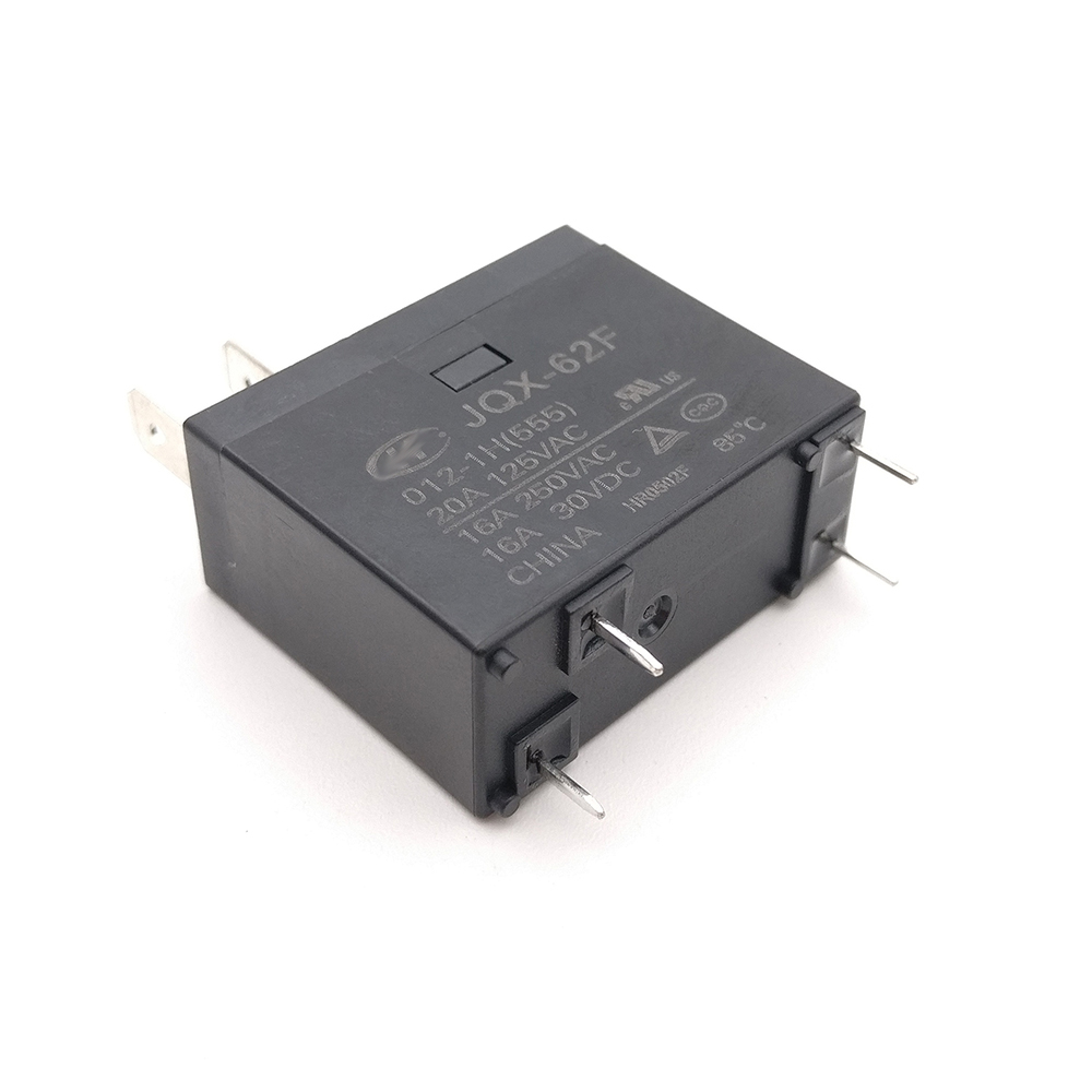 555 HF62F-012-1H 16A 250VAC Relays... 1pcs New JQX-62F-012-1H