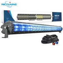 MICTUNING Magical M1s 42 ''aerodynamiczne automatyczne światło led Bar 22680 lm Off Road praca żarówka w/kable w wiązce i lampa atmosfera