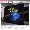 China xxx bilder led vorhang display dmx led vorhang p12cm 3x3 mt led solar vorhang lichter-in Bühnen-Lichteffekt aus Licht & Beleuchtung bei