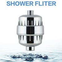 2017 In Line Bathroom Shower Filter Bathing Water Filter Purifier Water Treatment Health Softener Chlorine Removal