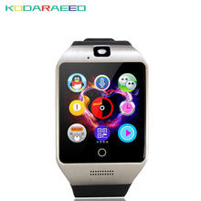 Q18S Smart Watch Bluetooth NFC Arc Smartwatch With Camera Sim TF Card For IOS& Android HuaWei XiaoMi Phone for Women Men Kids(China)