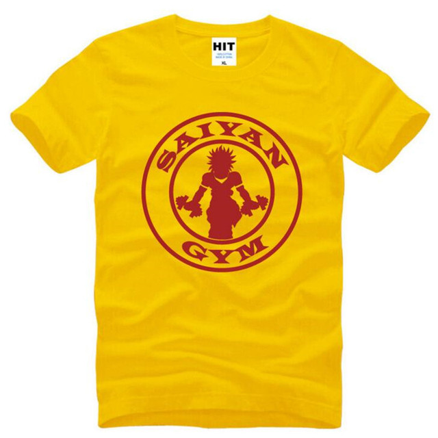 Dragon Ball Z DBZ Saiyan Printed T Shirts New Men Short Sleeve O-Neck Cotton Men's T Shirt Tee Shirt Homme Cartoon Fans Clothing