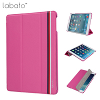 Labato Slim Case For IPad Air 1 Air 2 Stand Smart Protective Cover For IPad 5