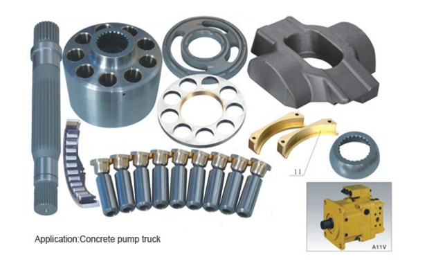 цена на Rexroth Pump engine Parts A11VO40 plunger pump cylinder block valve plate spare parts repair kit