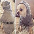 Güvenlik Köpek Giysileri Klasik Pet Köpek Hoodies Elbise Küçük Köpek Sonbahar Ceket Ceket Yorkie için Chihuahua Köpek Giyim 10d3S1