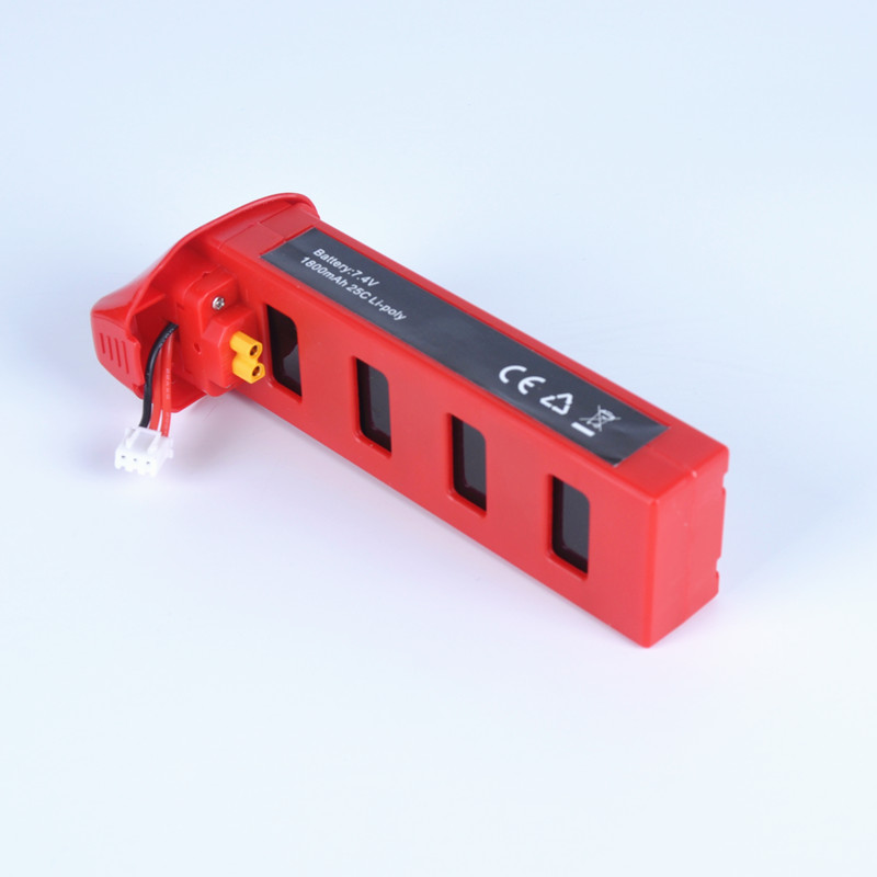 MJX R/C B2 B2C B2W Li-po Battery 7.4V 1800mah 25C MJX Bug2 Lipo Battery RC Parts Helicopter Battery for MJX B2W 1pc 7 4v 1000mah li po battery for wltoys v262 v333 v353 v912 v915 ft007 devo4 mjx x600 rc helicopter hot sale
