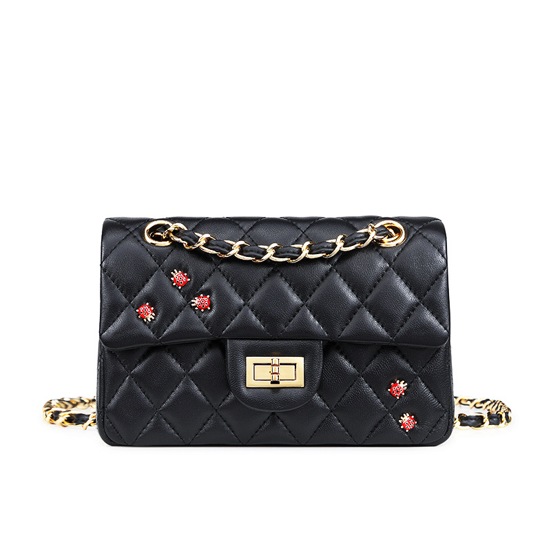2019 Luxury Women Bag Chain Women Messenger Bags Black Diamond Lattice Shoulder Handbag Clutch Evening Bags Bolsas Feminina2019 Luxury Women Bag Chain Women Messenger Bags Black Diamond Lattice Shoulder Handbag Clutch Evening Bags Bolsas Feminina
