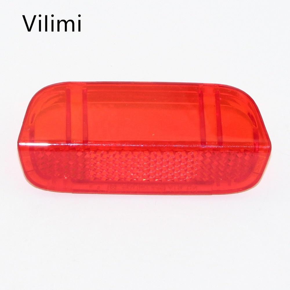 1Pcs  High Quality Plastic Red Door Panel Light Lense Reflector for VW Passat B6 B7 Jetta MK5 MK6 Golf MK6 Passat CC 1KD 947 419 sun visor light for vw passat b6 b7 cc golf mk5 mk6 mk7 tiguan skoda superb sunshade makeup lamp gray color 1kd 947 109 a