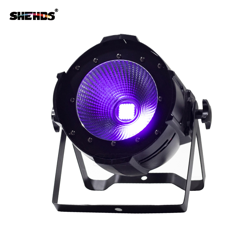 LED Par COB 200W Only Violet Strobe Stage Light High Power Dmx512 Light Aluminium Case Stage Lighting DJ Equipment show plaza light stage blinder auditoria light ww plus cw 2in1 cob lamp 200w spliced type for stage