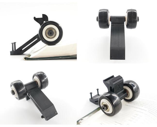 Free Shipping RC parts,wheelie bar with 2 wheel for Traxxas X-MAXX XMAXX imported nylon, Raise head wheel Stand up tires wheels