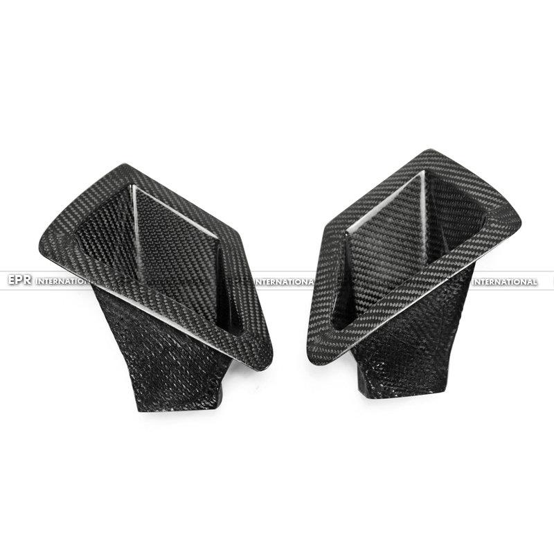 370Z Z34 Front Bumper duct set CF(4)_1