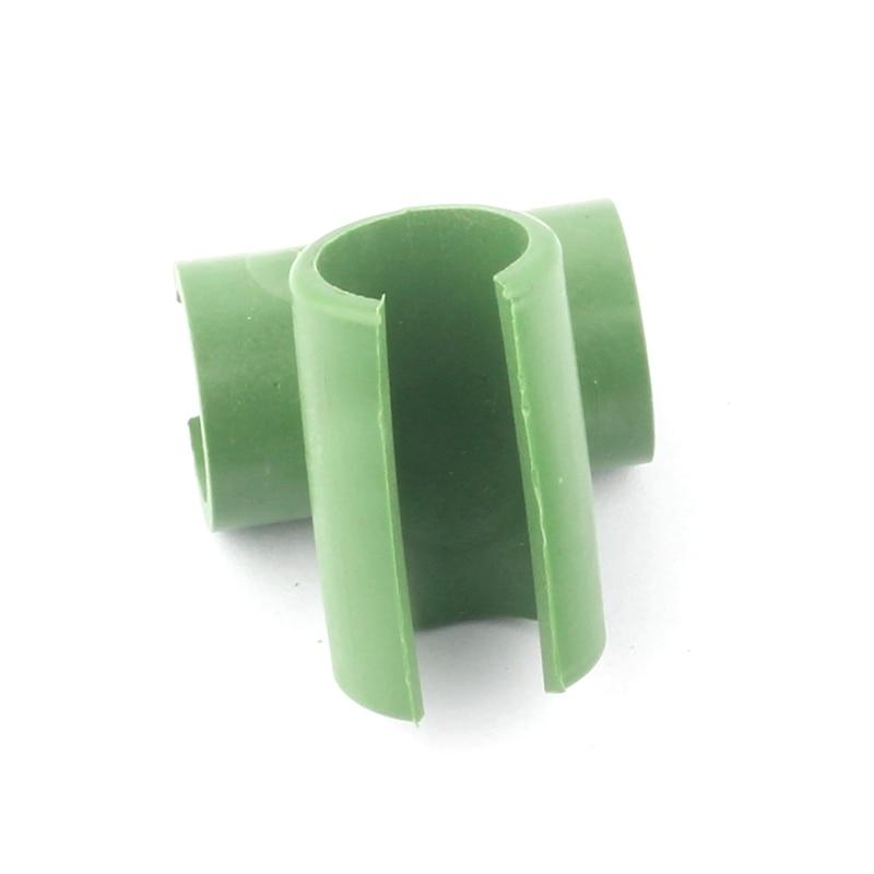 10 stks Cross Plastic Tuinieren Kolom Serre Lade Beugel Vaste Klem - Tuinbenodigdheden - Foto 2
