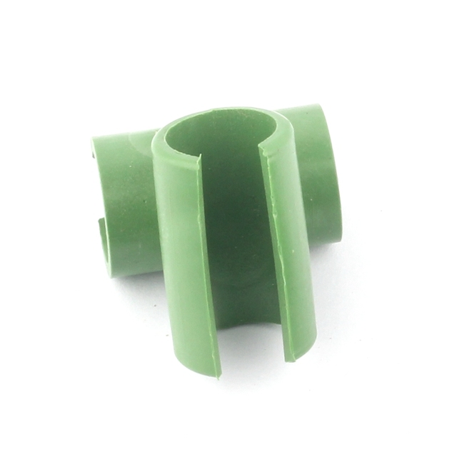 10pcs Cross Plastic Gardening Pillar Greenhouse Tray Bracket Fixed Clamp Garden Hose Pipe Clap 8mm 11mm 16mm 20mm