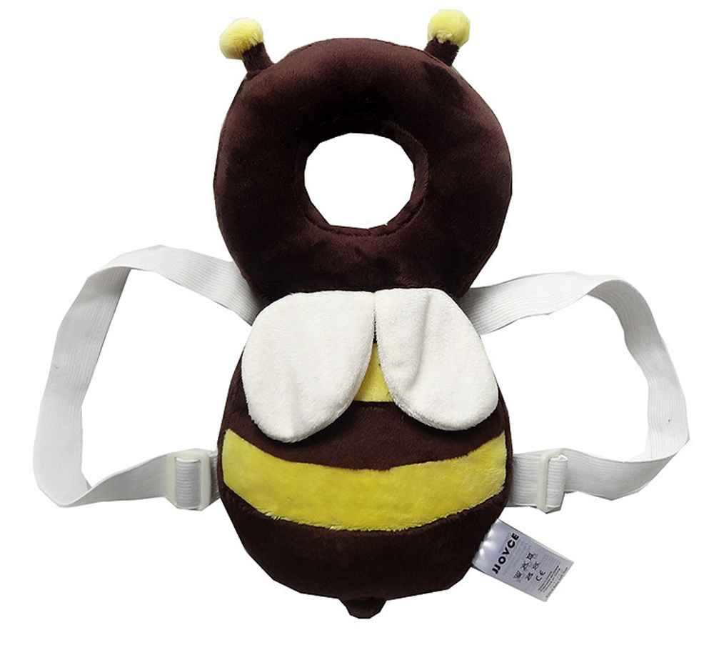 Baby Head Protection Pad Toddler Headrest Жастығы Baby Neck Cute Wings Nursing Drop Resistance Cushion B0004