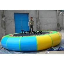 Надувной батут воды в бассейне платформы прыжки кровать плавающие игрушки воды гимнастика, батут воды вышибала надувной батут