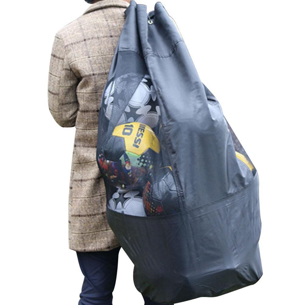 One High Quality Portable Durable Team Sports Ball Bag Football Basketball Balls Storage Bag Training Carrying Large Capacity