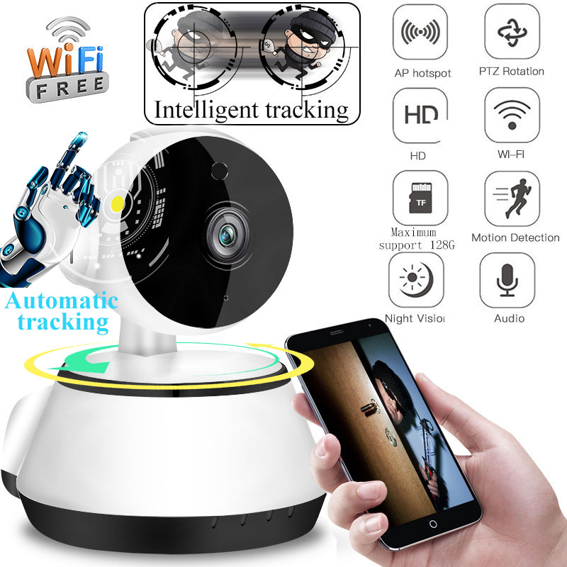 HD 1080P Wireless IP Camera Home Security Surveillance CCTV Network Wifi Camera Intelligent Auto Tracking Of Human Cloud StoageHD 1080P Wireless IP Camera Home Security Surveillance CCTV Network Wifi Camera Intelligent Auto Tracking Of Human Cloud Stoage