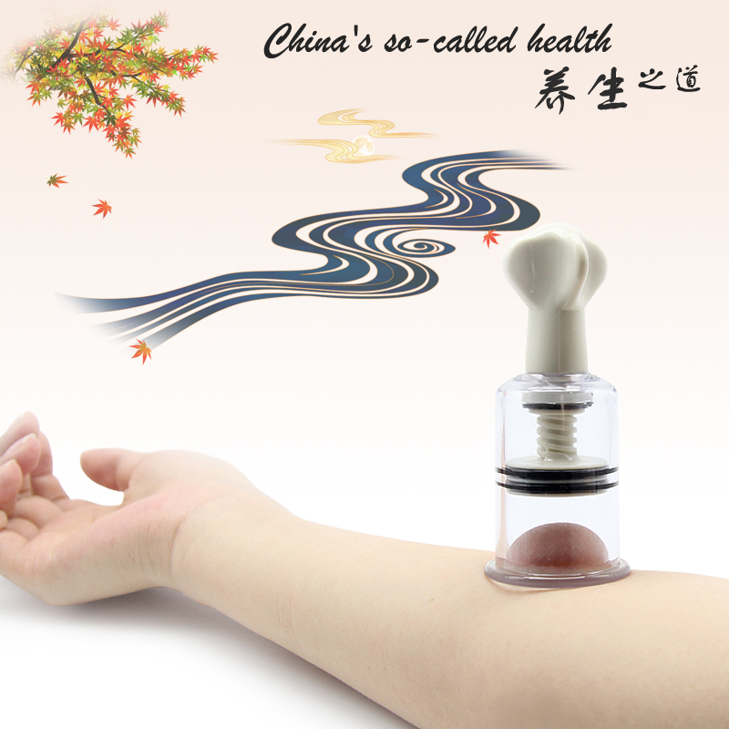 4Sizes set Rotating Handle Vacuum Body Massage Cans Suction Enhancer Nipple Enlarger Acupuncture Vacuum Cupping Cup High Quality in Massage Relaxation from Beauty Health