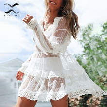 0018fa90e5c72 Buy transparent lace bikini dress and get free shipping on ...