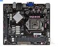 Frete grátis 100% original Motherboard ECS H61H2-MV DDR3 LGA 1155 Desktop Motherboard