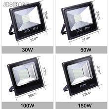 30W 50W 100W 150W 200W 300W 400W Reflector LED Flood Light Waterproof IP66 Spotlight Wall Outdoor Lighting Warm Cold White top quality aluminum ip67 outdoor ac110v ac220v high mast led flood light 50w 100w 150w 200w 240w 300w led tunnel light